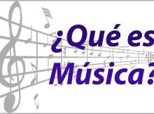 Qué es la música y de qué se compone