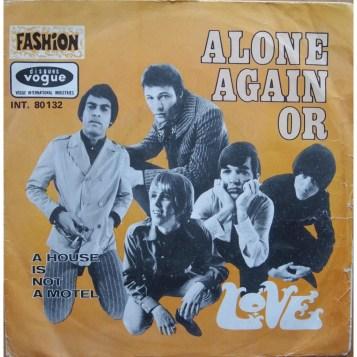 Alone Again, Or single cover
