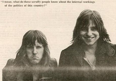 Keith Emerson and Greg Lake 1971