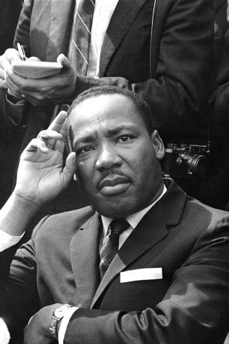 Martin Luther King in Birmingham Alabama 1963