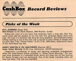 CashBox review of Some Velvet Morning 1967