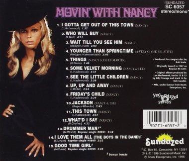 Movin' with Nancy, back