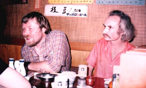 Conny Plank and Holger Czukay