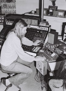 Conny Plank in the studio