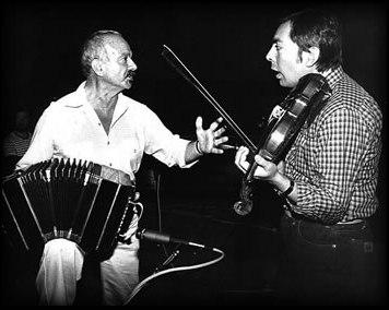 Fernando Suárez Paz with Astor Piazzolla