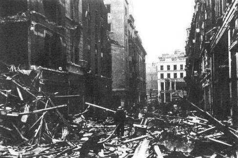 A devastated Jermyn Street, 17th April 1941