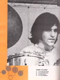 Bobby Colomby on the Zildjian catalog 1969