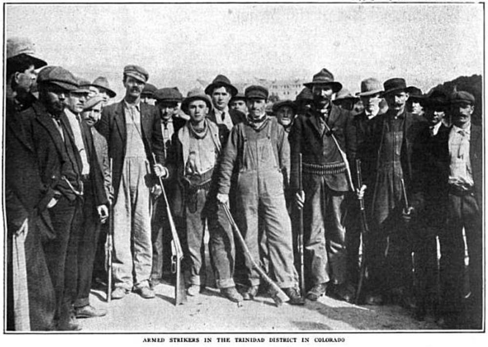 Armed Strikers in Colorado