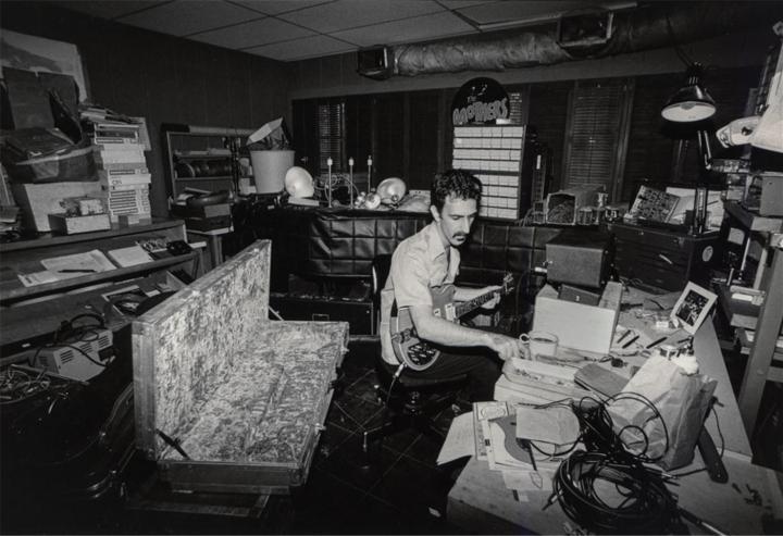 Frank Zappa studio 1979