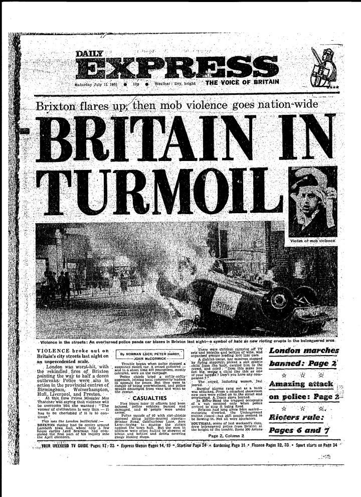 Britain in Turmoil July 11
