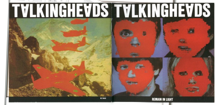 Remain in Light Cover