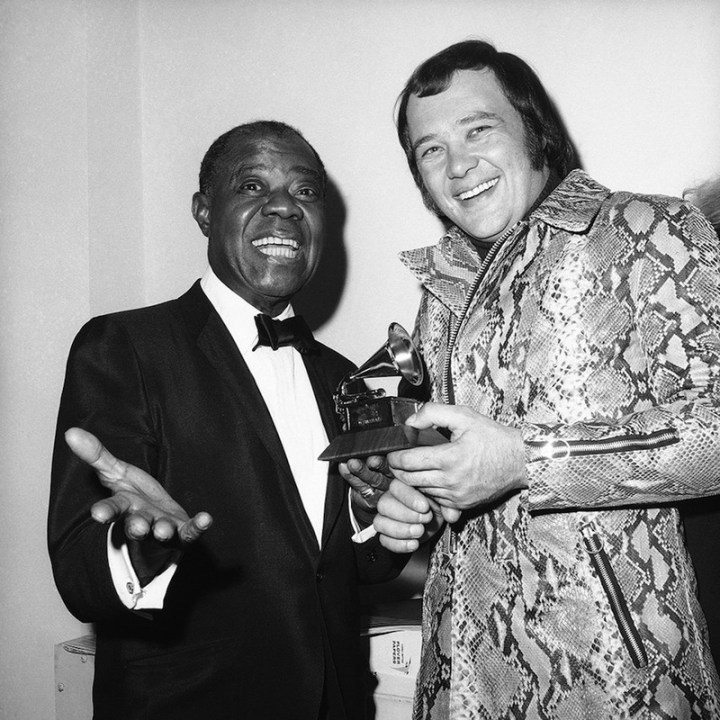 David Clayton Thomas Grammy Louis Armstrong