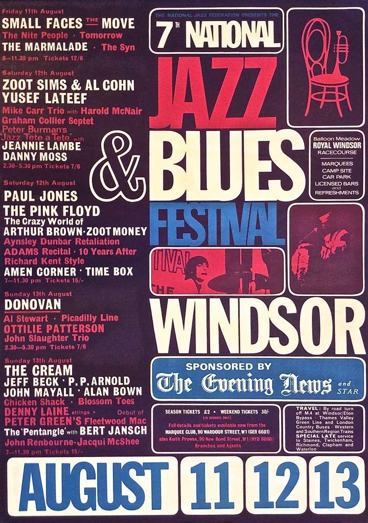 Windsor National Jazz and Blues Festival