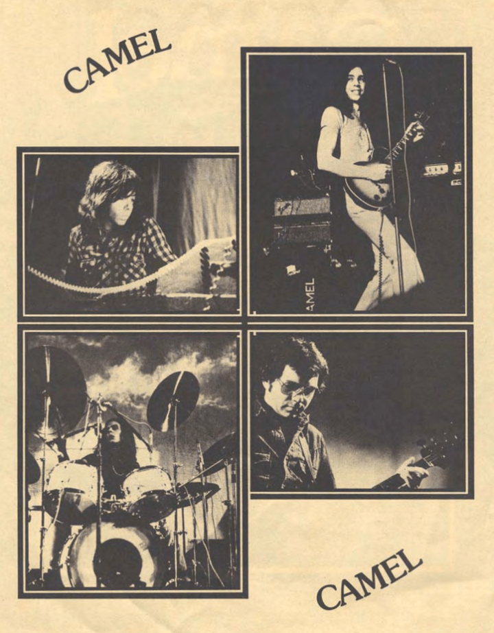 Camel 1976 Tour Program