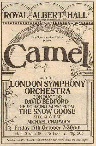 Camel Royal Albert Hall 1975