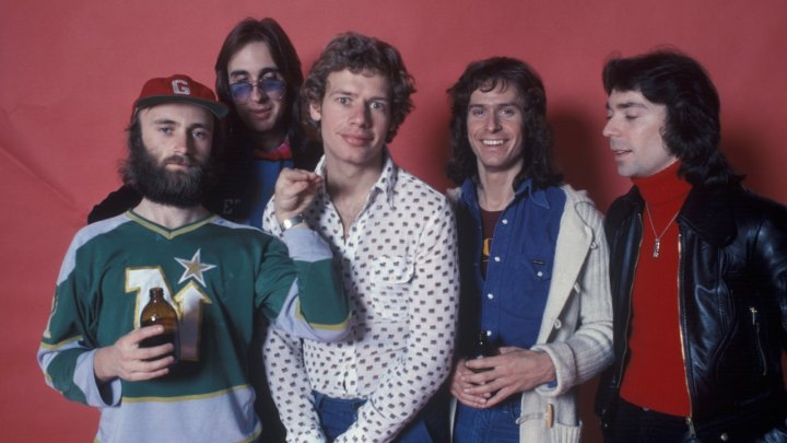 Rock Group Genesis In New York Photo Studio