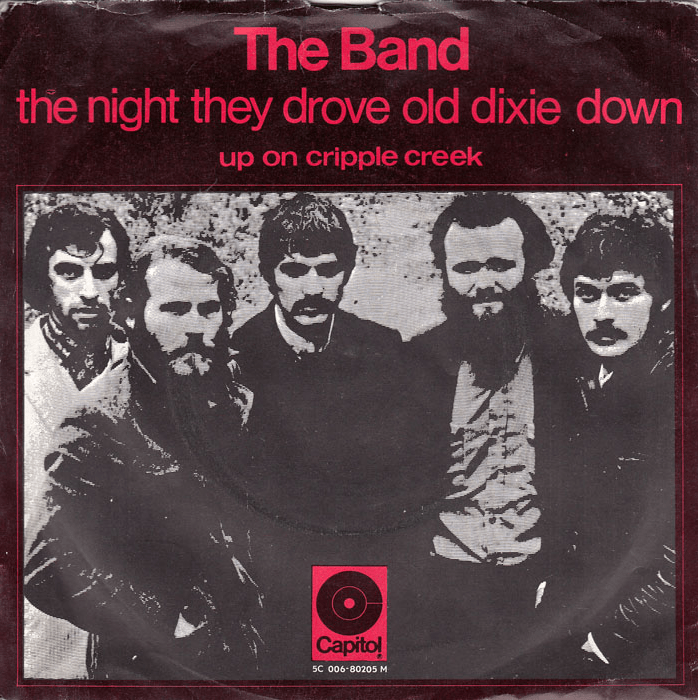 The Night They Drove Old Dixie Down single cover