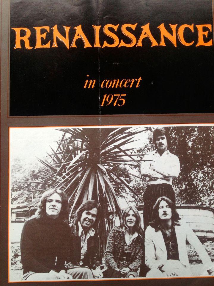 Renaissance tour book 1975