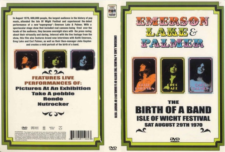 Emerson Lake & Palmer - The Birth Of A Band (Isle Of Wright 1970)
