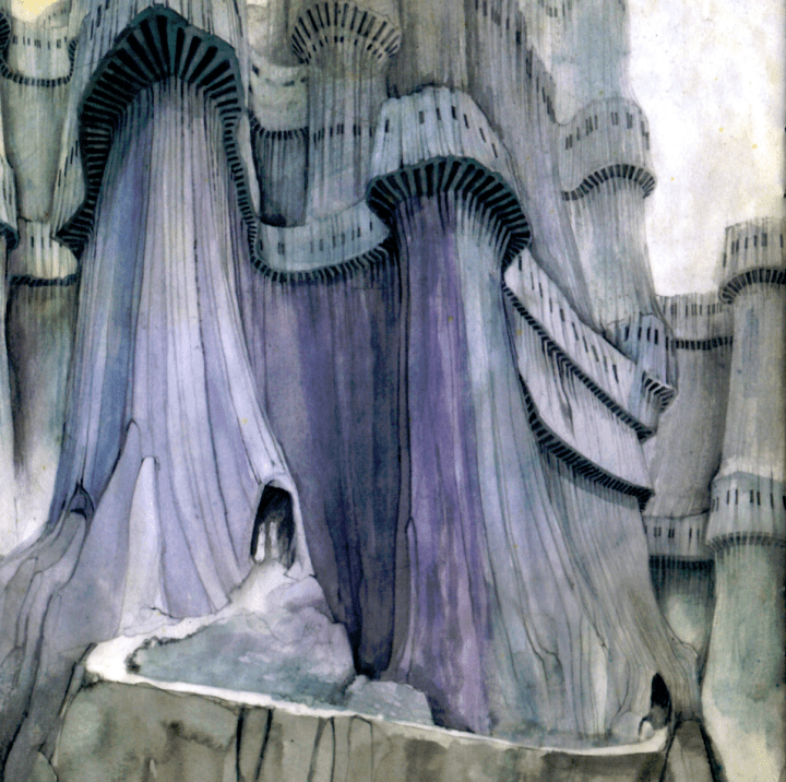 Roger Dean Relayer Sketch
