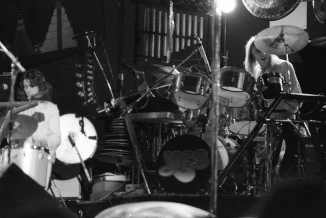 ALLAN WHITE ON DRUMS