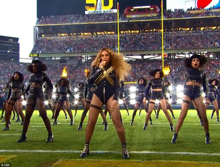 Beyonce Formation SuperBowl Performance