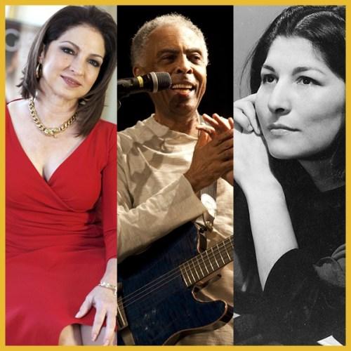 a Música Latina Gloria Estefan Gilberto Gil Mercedes Sosa