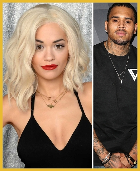 Rita Ora e Chris Brown