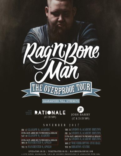 Rationale Rag N Bone Man Poster Tour