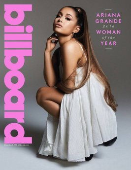 O que rolou na música em 2018: Billboard Magazine Ariana Grande Woman of the Year
