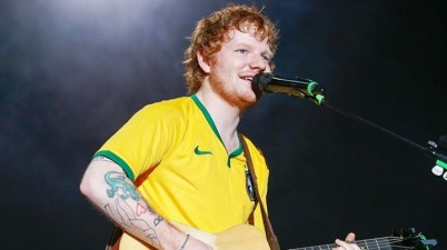 Ed Sheeran DIVIDE Tour Brasil