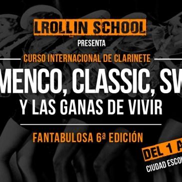 Sexta edición del Curso internacional de Clarinete L'rollin School.