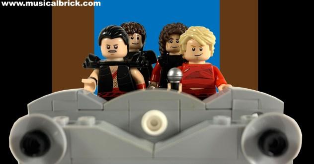 Queen Radio GaGa in Lego