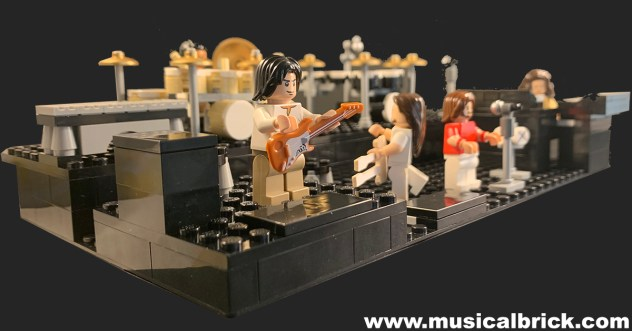 Genesis - Seconds Out Stage in Lego