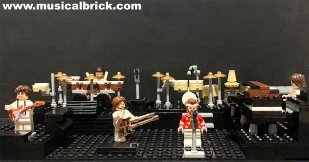 Genesis 1980 Duke Stage Recreated in Lego