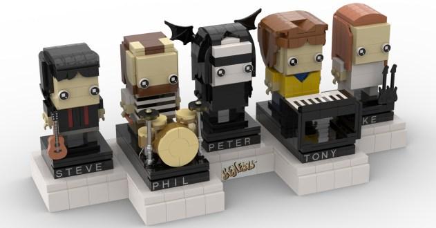 Lego Genesis Tribute as BrickHeadz (by DankSide2112)