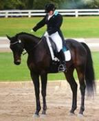 Jeri on horse
