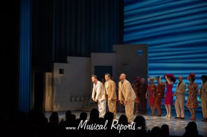 Alternate première Kaj van der Voort in Mamma Mia | ©Musical Reports
