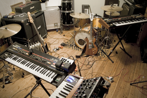 Musical Rooms  Interviews with musicians about their