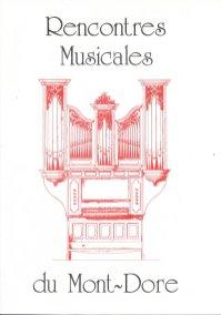 _1 - 1999-09-15 Concert Le Mont-Dore Programme couverture 1
