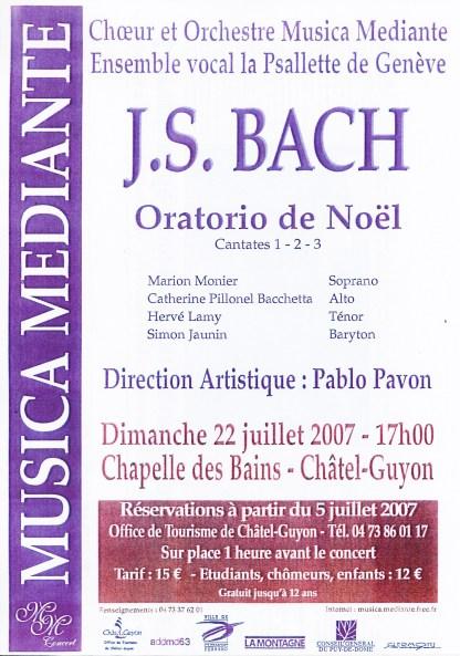 _2007-07-22 Concert Châtel-Guyon Affiche