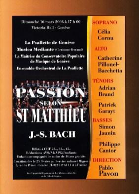 _2008-03-16 Concert Suisse Genève Programme couverture p1
