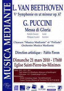 _2010-03-21 Concert Clermont-Ferrand Affiche