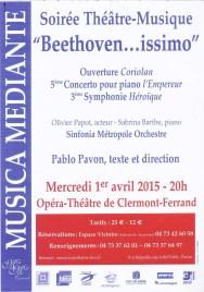 _2015-04-01 Concert Clermont-Ferrand Affiche