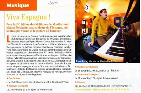 _4 - 2005-11-18au27 Meltiques Article Le Mois