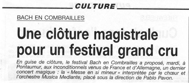 _5 - 2000-08-15 Concert Pontaumur Article p1 La Montagne