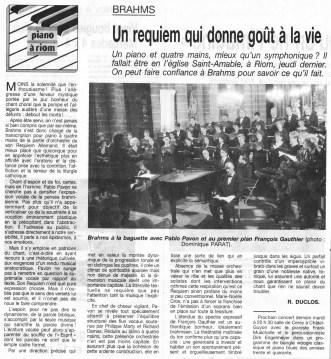 _7 - 2003-06-05 Concert Riom Article La Montagne