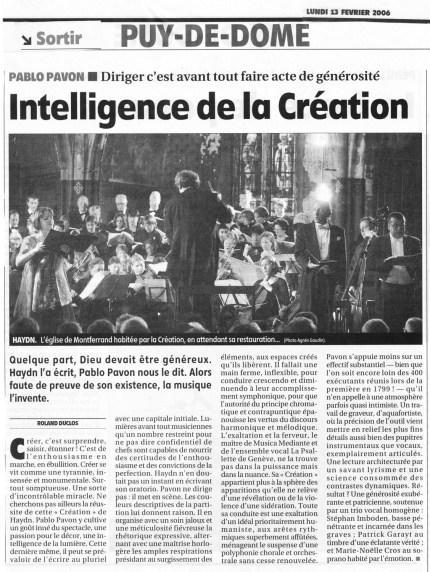 _7 - 2006-02-12 Concert Clermont-Ferrand Article 2 La Montagne