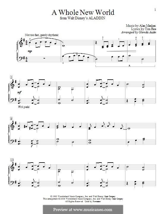 Terjemahan Lagu A Whole New World : terjemahan, whole, world, Terjemahan, Lirik, Whole, World, Mudah