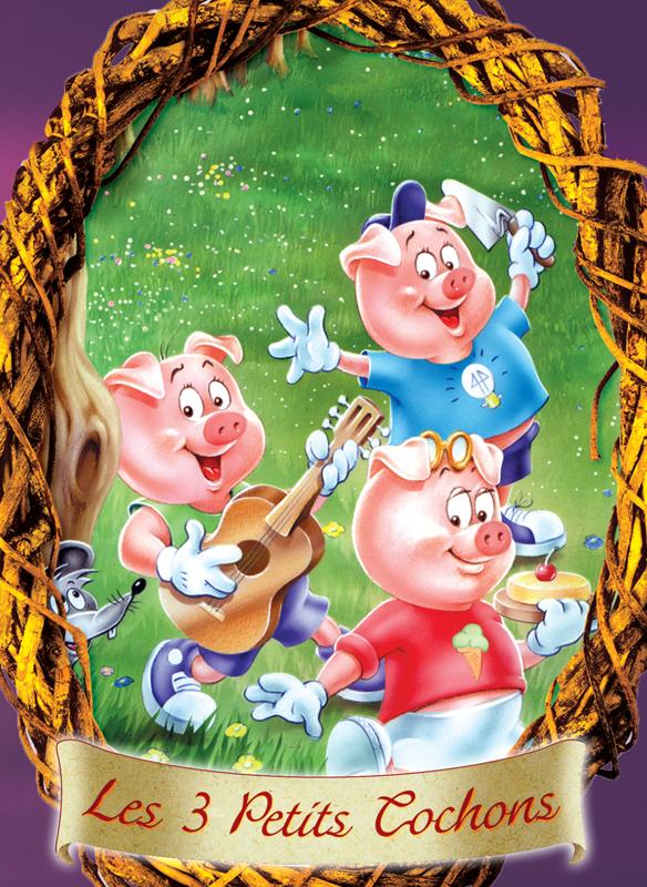 Les 3 petits cochons - Pinterest